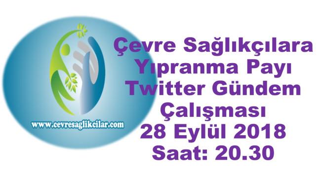 Çevre Sağlıkçılara Yıpranma Payı Twitter Gündem Çalışması