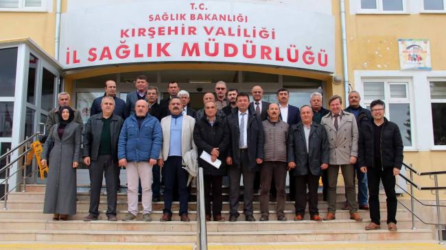 Kırşehir'de Çevre Sağlıkçılar Hizmet İçi Eğitim Aldı
