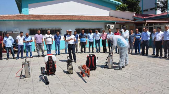 Kahramanmaraş'ta Biyosidal Ürün Uygulayıcı Eğitimi Verildi