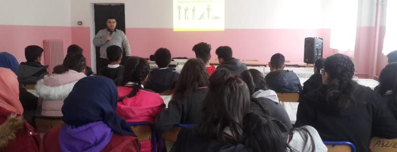 Iğdır Tuzluca'da Liselere Karbonmonoksit Eğitimi