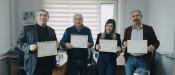 Konya Selçuklu Kaymakamı'ndan Çevre Sağlıkçılara Başarı Belgesi